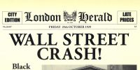Wall Street stockmarket crash