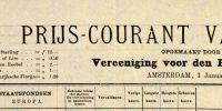 Prijscourant 01-01-1877