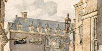 Achteringang Beurs van Hendrick de Keyser