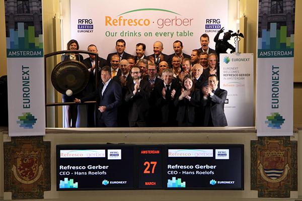 Refresco Gerber gaat naar de beurs 27 maart 2015