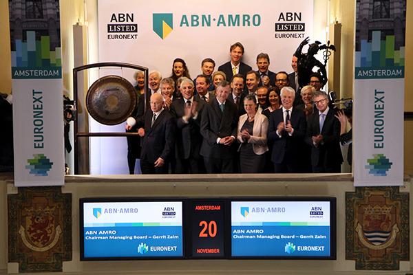 ABN-AMRO keert terug naar de beurs 20 november 2015
