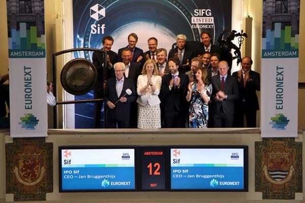 Buizenfabrikant Sif Group gaat naar de beurs