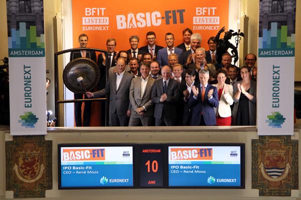 Fitnessketen Basic-Fit naar Amsterdamse beurs