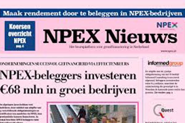 Haagse mkb-beurs NPEX in opmars