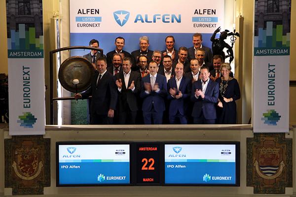 Energiespecialist Alfen, transformatoren en laadpalen, krijgt beursnotering in Amsterdam