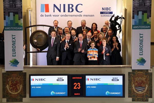 Zakenbank NIBC naar Amsterdamse beurs