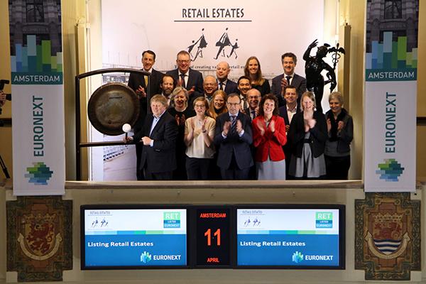 Vastgoedfonds Retail Estates naar tweede beursnotering Amsterdam