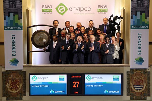 Envipco, onderneming op gebied van statiegeldautomaten en recyclingsystemen naar de beurs