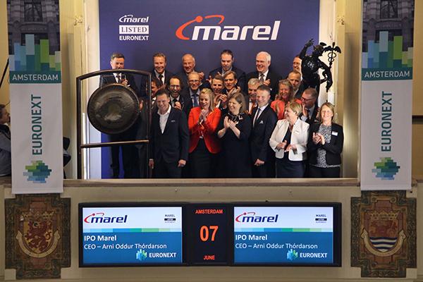 IJslandse machinebouwer Marel start naar Amsterdamse beurs