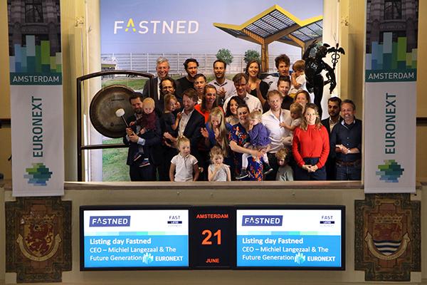 Laadpalenuitbater Fastned naar Amsterdamse beurs