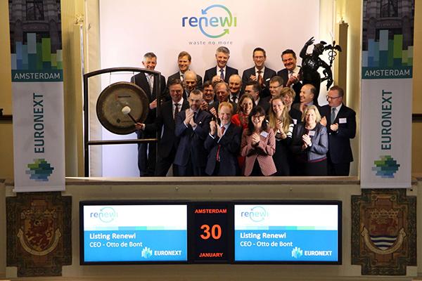 Recyclingbedrijf Renewi (fusie van Shanks en Van Gansewinkel) gaat naar de beurs